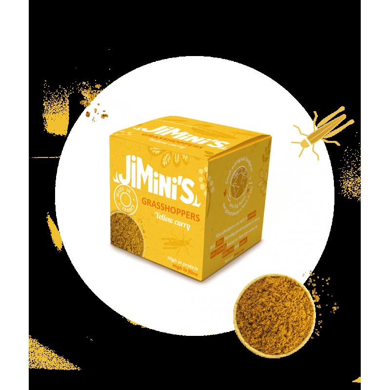 Cavallette giallo al curry