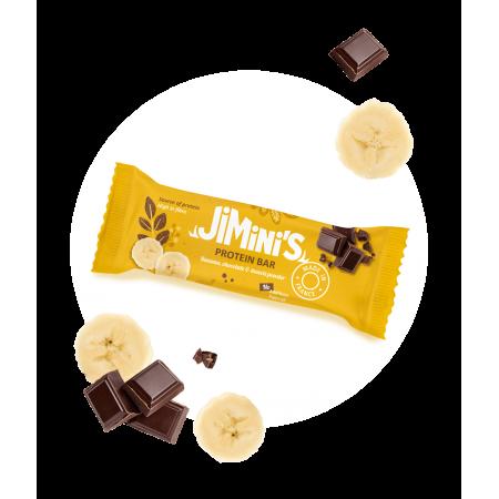 Banana and chocolate protein bars